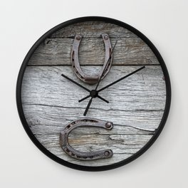 Luck symbols - Glueckssymbole Wall Clock