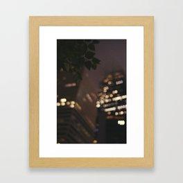 Foggy Night VIII Framed Art Print