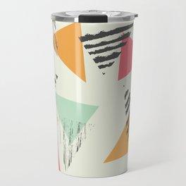 Geometric Mint Pattern Design 015 Travel Mug