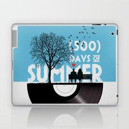 500 days of summer art Laptop & iPad Skin