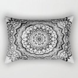 BLACK JEWEL MANDALA Rectangular Pillow