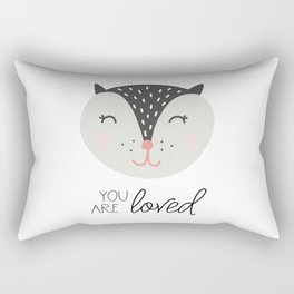 You Are So Loved Rectangular Pillow
