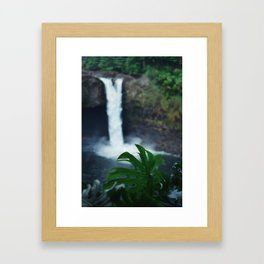 Hawaii Falls Framed Art Print