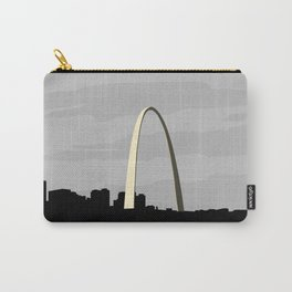 Gateway Arch Modern Architecture Carry-All Pouch
