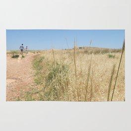 Wheat on Mount Tabor Rug