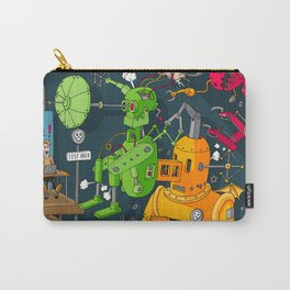 Robot Rampage Carry-All Pouch