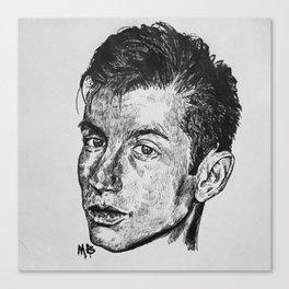 Alex Turner. Canvas Print