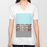brooklyn V-neck T-shirts featuring Brooklyn by Home & Anchor
