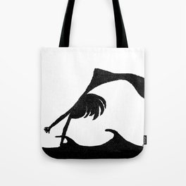 Girl Makes Waves Tote Bag