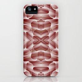 Fractal Art - Rose iPhone Case