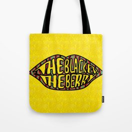 The Blacker the Berry Tribe called quest Tote Bag