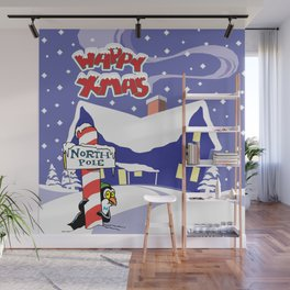 Christmas in North Pole Wall Mural