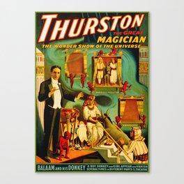 Thurston The Great Magician - Egypt Canvas Print