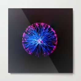 High Intensity Metal Print