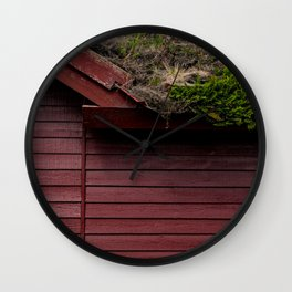 The Scandinavian House Wall Clock
