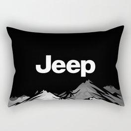 Jeep 'Black Mountain' Rectangular Pillow