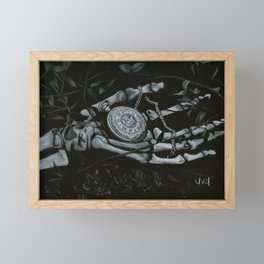Out of Time Framed Mini Art Print