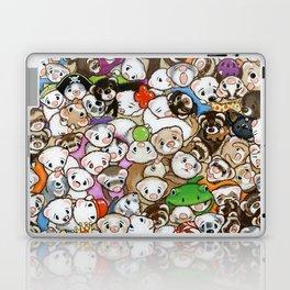 One Hundred Million Ferrets Laptop & iPad Skin