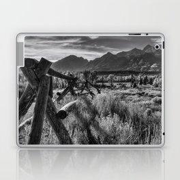 Buck and Rail to the Tetons Laptop & iPad Skin