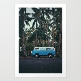Big Island Van Art Print