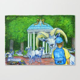 Locals Only  - Chapel Hill, NC Canvas Print