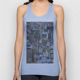 Paris Rooftops Unisex Tank Top