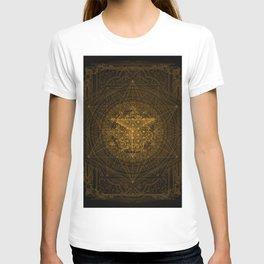 Dark Matter - Gold - By Aeonic Art T-shirt