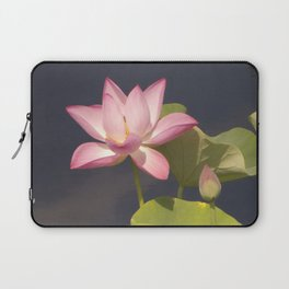 Pink Lotus by Teresa Thompson Laptop Sleeve
