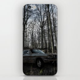 Car in the Woods iPhone Skin