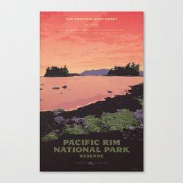 Pacific Rim National Park Reserve Canvas Print