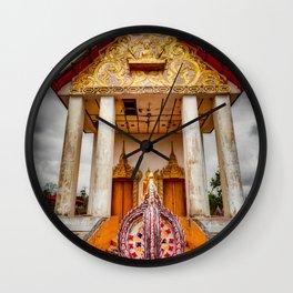 Somdet Temple Wall Clock