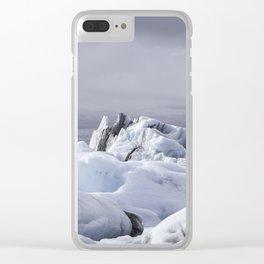 Glacier Lagoon Clear iPhone Case