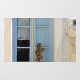 The Light Blue Window, Milos Rug