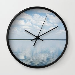 Reflections of Clouds Wall Clock