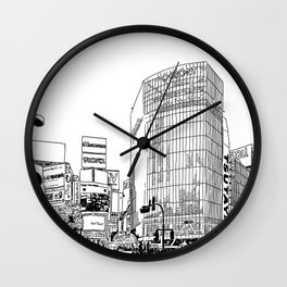Tokyo - Shibuya Wall Clock