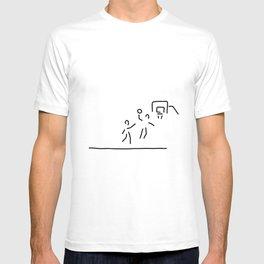 basketball usa basketball player T-shirt