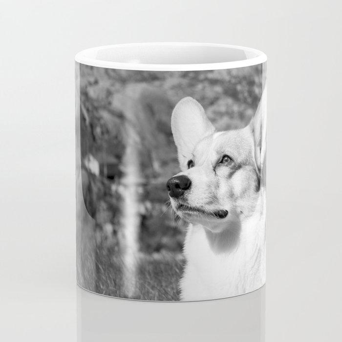 Spock the Corgi Coffee Mug