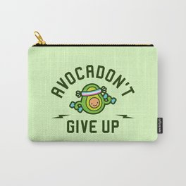 Avocadon't Give Up (Avocado Pun) Carry-All Pouch