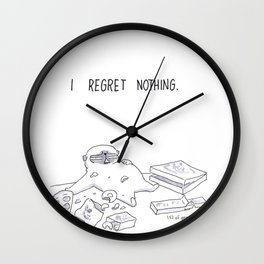 I regret nothing Wall Clock
