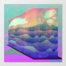 Sea of Clouds for Dreamers Canvas Print