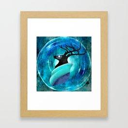 Ice God Framed Art Print