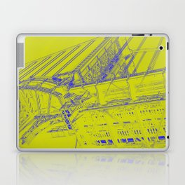 Manhattan Bridge - Green Laptop & iPad Skin