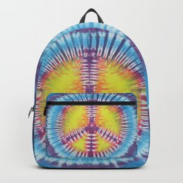 Peace Tie Dye Backpack
