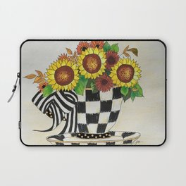 Sunflower Tea Laptop Sleeve