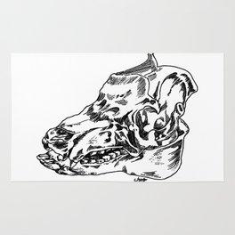 Pig Skull Rug