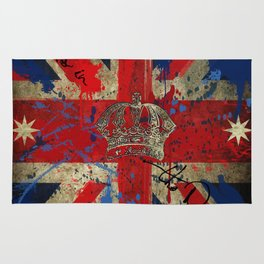 Union Jack & Eureka Flag Rug