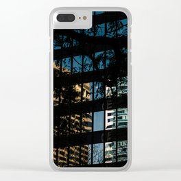 Downtown X-ing II Clear iPhone Case