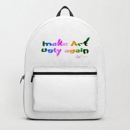 Make Art Ugly Again Backpack