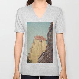 Vintage New Yorker Unisex V-Neck