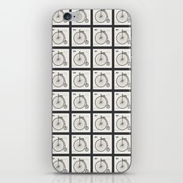 Penny Farthing 1891 iPhone Skin
